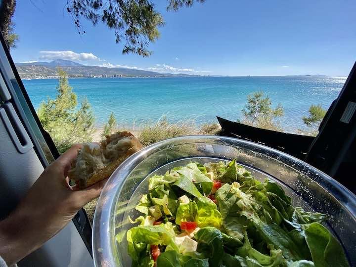 Salat bei Kalamaki