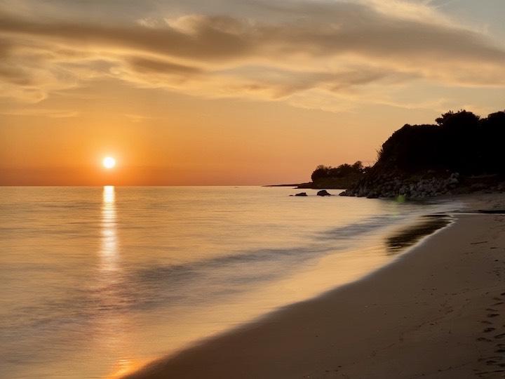 Sonnenuntergang Gargaliani