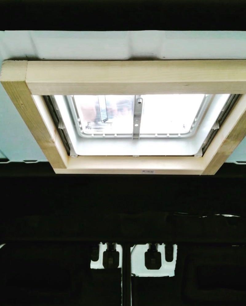 Dachfenster von innen