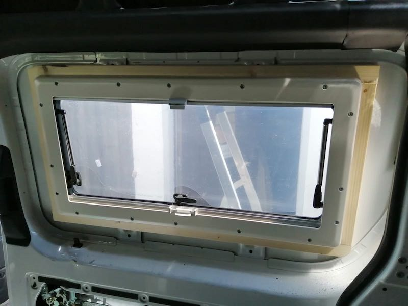 Fenster Schiebetuer innen