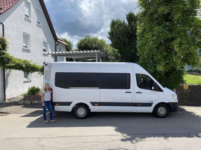 Laura und der neue Van