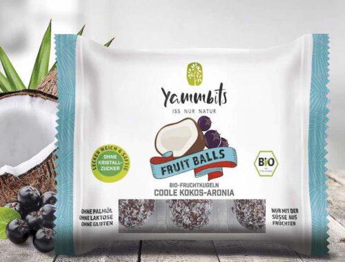 Yammbits Fruit Balls Verpackung