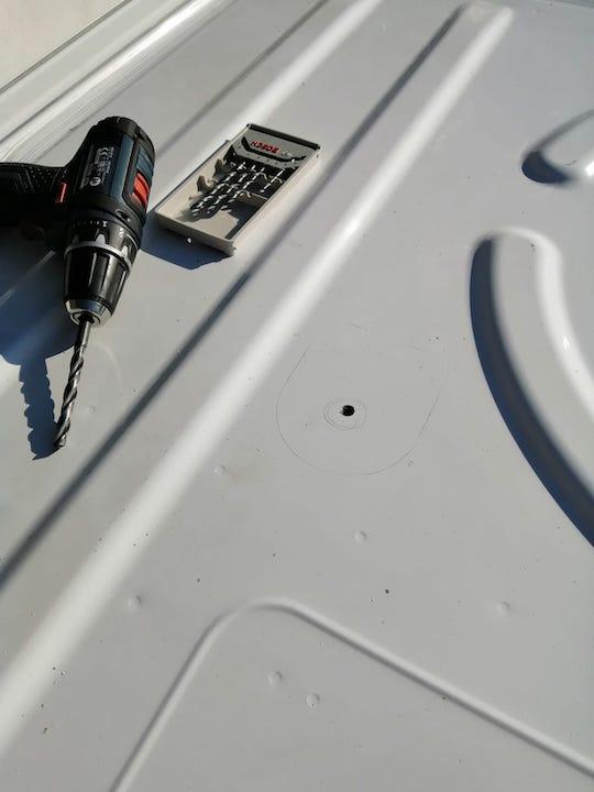 Dachdurchfuehrung Verbindungskabel Solaranlage