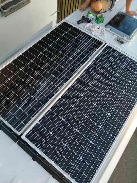 Solaranlage von Offgridtech nach Installation
