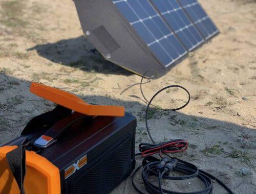 Autarke Stromversorgung von Plug-in Festivals