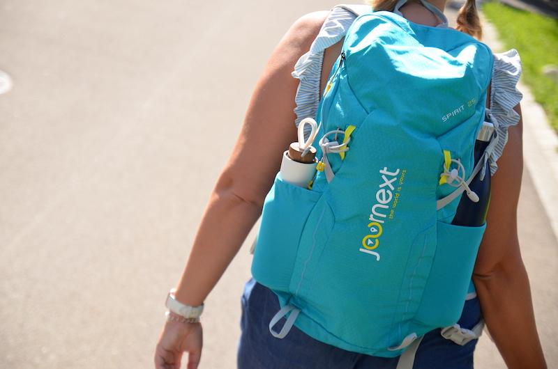 Rucksack von JOURNEXT von hinten